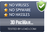 3D PacMan (Chompster) is free of viruses and malware.