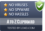 A to Z Clipboard is free of viruses and malware.