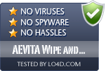 AEVITA Wipe and Delete is free of viruses and malware.