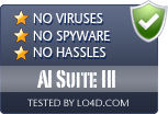 AI Suite III is free of viruses and malware.