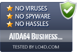 AIDA64 Business Edition is free of viruses and malware.