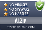 ALZip is free of viruses and malware.