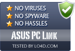 ASUS PC Link is free of viruses and malware.