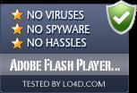 Adobe Flash Player Uninstaller is free of viruses and malware.