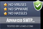 Advanced SMTP Server is free of viruses and malware.