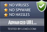 Advanced URL Catalog is free of viruses and malware.