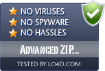 Advanced ZIP Password Recovery is free of viruses and malware.