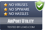 AirPort Utility is free of viruses and malware.