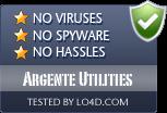 Argente Utilities is free of viruses and malware.