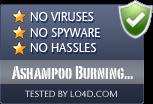 Ashampoo Burning Studio is free of viruses and malware.