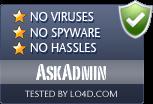 AskAdmin is free of viruses and malware.