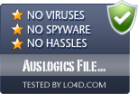 Auslogics File Recovery is free of viruses and malware.