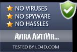 Avira AntiVir Removal Tool is free of viruses and malware.