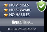 Avira Free Antivirus is free of viruses and malware.