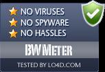 BWMeter is free of viruses and malware.