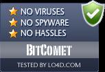 BitComet is free of viruses and malware.