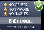 BitDefender Antivirus is free of viruses and malware.