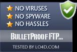 BulletProof FTP Server is free of viruses and malware.