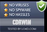 CDRWIN is free of viruses and malware.