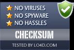 CHECKSUM is free of viruses and malware.