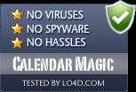 Calendar Magic is free of viruses and malware.