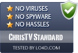 ChrisTV Standard is free of viruses and malware.