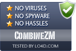 CombineZM is free of viruses and malware.