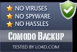 Comodo Backup is free of viruses and malware.