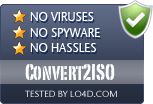 Convert2ISO is free of viruses and malware.