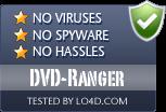 DVD-Ranger is free of viruses and malware.