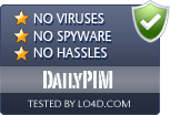DailyPIM is free of viruses and malware.