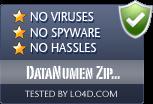 DataNumen Zip Repair is free of viruses and malware.