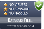 Database File Explorer is free of viruses and malware.