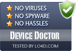 Device Doctor is free of viruses and malware.