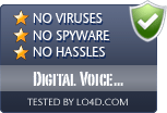 Digital Voice Editor is free of viruses and malware.