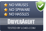 DriverAgent is free of viruses and malware.