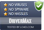 DriverMax is free of viruses and malware.