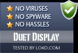 Duet Display is free of viruses and malware.