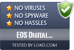 EOS Digital Solution Disk Software is free of viruses and malware.