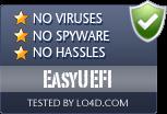 EasyUEFI is free of viruses and malware.