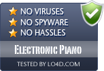 Electronic Piano is free of viruses and malware.