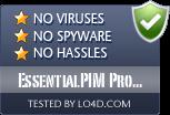 EssentialPIM Pro Portable is free of viruses and malware.