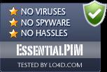 EssentialPIM is free of viruses and malware.