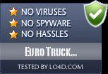 Euro Truck Simulator 2012 is free of viruses and malware.