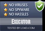 Executor is free of viruses and malware.
