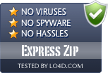 Express Zip is free of viruses and malware.