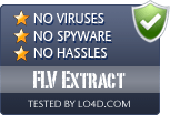 FLV Extract is free of viruses and malware.