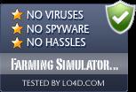 Farming Simulator 2011 is free of viruses and malware.