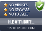 File Attribute Editor is free of viruses and malware.
