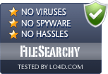FileSearchy is free of viruses and malware.